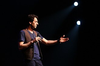 Iranian Americans - Max Amini, Persian American stand-up comedian