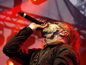 Hungarian metal - Attila Csihar performing with Mayhem