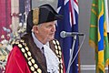 Mayor of Wagga Wagga, Greg Conkey, speech at the 2018 Australia Day Citizenship Ceremony at the Wagga Wagga Civic Centre ( MG 9983).jpg