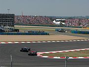 McLaren and Williams GP France 2006.JPG