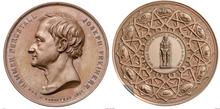 Medaille Joseph von Hammer-Purgstall 1847 (Quelle: Wikimedia)