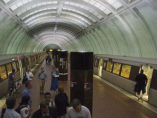 Medical Center station (Washington Metro) Washington Metro station