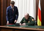Meeting of Ministers of Defense of Russia and South Ossetia (2017-03-31) 08.jpg