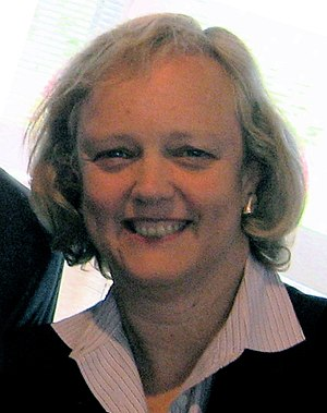 Meg Whitman, President and CEO of the online m...
