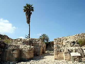 Tel Megiddo - Late Bronze Age city gate