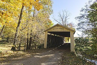 Melcher Covered Bridge place in Indiana listed on National Register of Historic Places