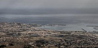 Beni Ansar - Image: Melilla (desde el Kol La)