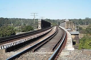 Nepean River railway bridge, Menangle