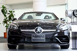 Mercedes-Benz SLC180 by Front.jpg