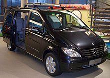 Der Mercedes-Benz Viano mit Komfortausstattung