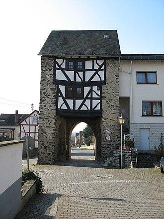 Merenberg - Image: Merenberg Stadttor