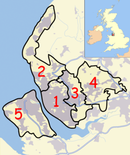 Civil parishes in Merseyside