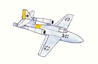 Messerschmitt Me 328 German parasite fighter prototypes
