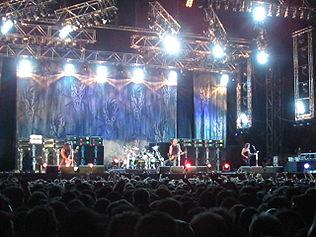 Metallica podczas trasy koncertowej Summer Sanitarium '03