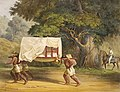 Method of Travel in Yucatan 1830s Waldeck.jpg