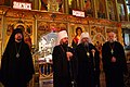Metropolitan Hilarion of Volokolamsk, Metropolitan Jonah and Bishop John of Naro-Fominsk at St. John The Baptist Cathedral in Washington, May 13, 2017 (33804659504).jpg