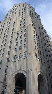 Metropolitan Life North Building Office skyscraper in Manhattan, New York