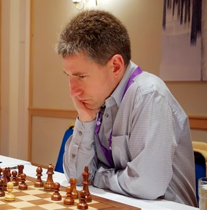 Michael Adams (chess player) - Adams playing in the Chess World Cup 2013