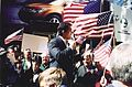Michael Benjamin Times Square Pro-Troops Rally 2004 01.jpg