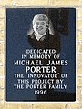 Michael James Porter plaque - 442 George St N, Peterborough, ON K9H 3R7, Canada.jpg