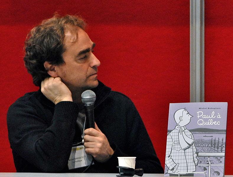 Michel Rabagliati, auteur de Paul