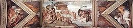 Michelangelo - Sistine chapel ceiling - 8th bay