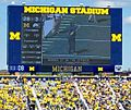 Michigan Stadium, 17 September 2012 (scoreboard).jpg