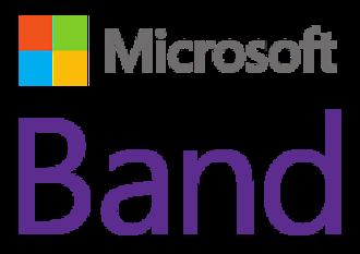 Microsoft Band - Image: Microsoft Band Logo 1