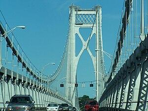 Mid-Hudson Bridge - Image: Mid Hudson Br