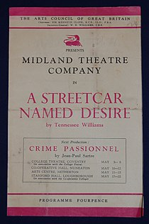 Midland Theatre Co programme Streetcar Named Desire.jpg