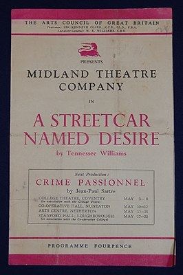 Midland Theatre Co programme Streetcar Named Desire.jpg
