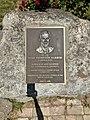 Mike Thompson Harbor plaque, Clearlake, California.jpg