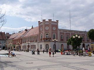 Mikołów Place in Silesian Voivodeship, Poland