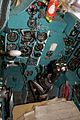Mikoyan-Gurevich MiG-23UB Flogger-C Cockpit 01 CWAM 8Oct2011 (14444511777).jpg