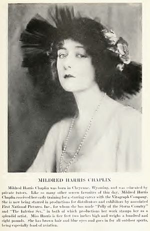 Mildred Harris - Mildred Harris c. 1920.