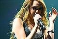 Miley Cyrus Wonder World concert at Auburn Hills 02.jpg
