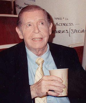 Cropped image of Milton Berle taken from photo...