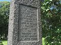 Minnesmerke Tønsberg gamle kirkegård Jyllandsslaget 1916.jpg