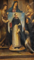 Miracolo del quadro di san domenico Monastero di sant'Anna.png