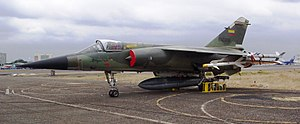 "Cenepa War - The Mirage F.1JA (FAE-806) was one of aircraft supposedly involved in the claimed ""shot down"" of two Peruvian Sukhoi Su-22 on February 10, 1995."