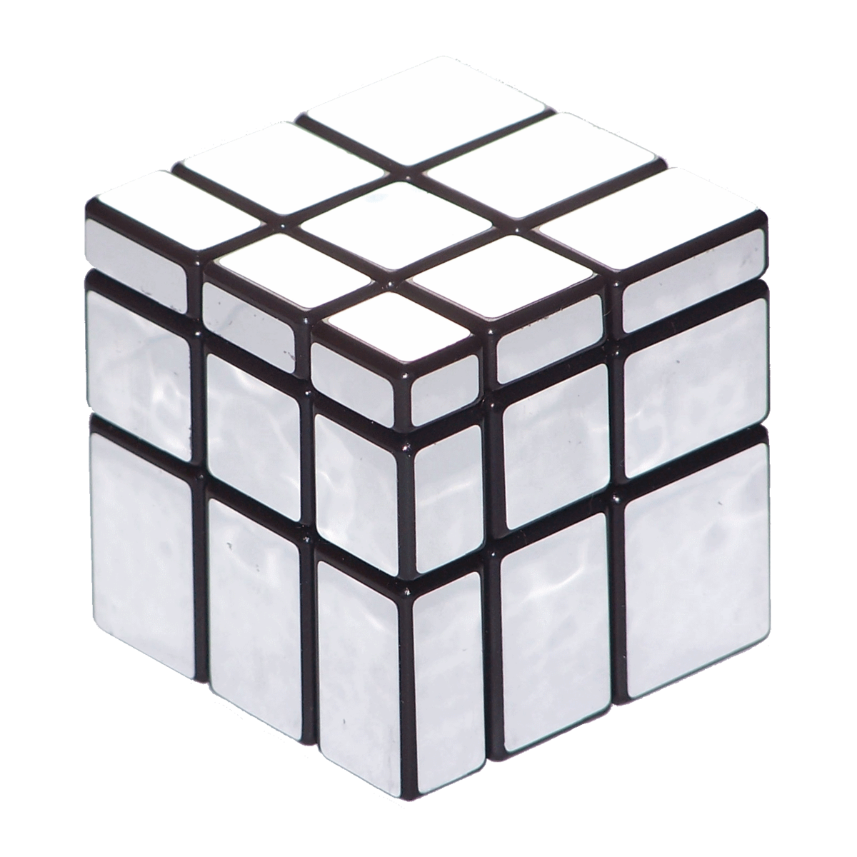 how to solve the corners of a mirror cube