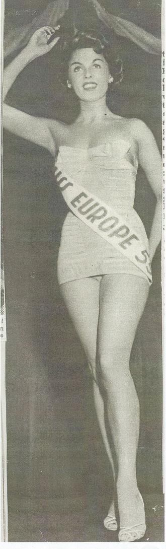 Miss Europe - Miss Europe 1954-55