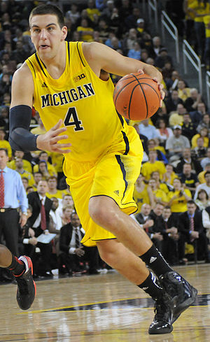 Mitch McGary - McGary with Michigan in November 2012