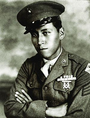 Ho-Chunk Nation of Wisconsin - Mitchell Red Cloud Jr., tribal member and decorated Marine who was killed in combat in Korea