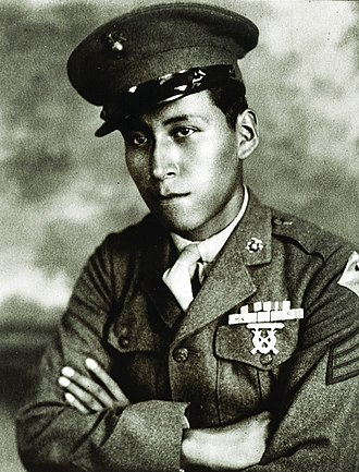 Ho-Chunk - Cpl. Mitchell Red Cloud Jr., Korean War Medal of Honor recipient