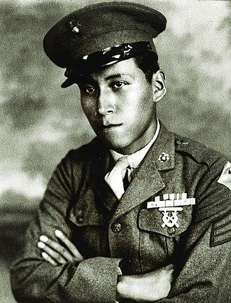 Ho-Chunk - Cpl. Mitchell Red Cloud Jr., Korean War Medal of Honor recipient