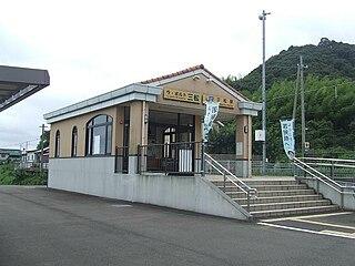 Mitsumatsu Station (Fukui) Railway station in Takahama, Fukui Prefecture, Japan