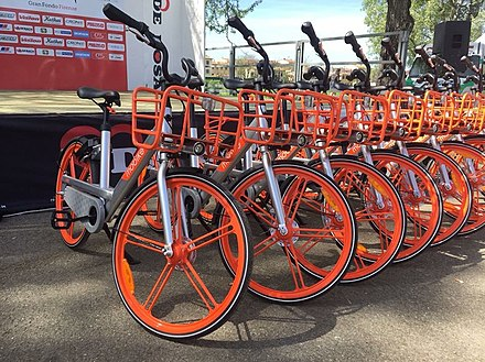 Mobike Lites at Parco delle Cascine, Florence Mobike Lites at Parco delle Cascine, Florence.jpg