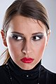 Model with eye make-up and lipstick 01.jpg