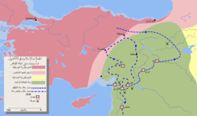 Mohammad adil rais-Invasion of Anatolia and Armenia-ar.PNG